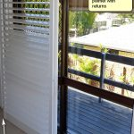 plantation shutter doors maintain easy access whilst improving privacy